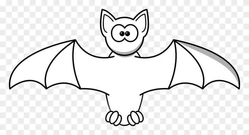 Bat Clipart Black - Tv Clipart Black And White