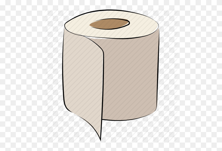 Bath Paper, Bog Roll, Paper Roll, Paper Towel, Tissue Roll, Toilet - Paper Towel Clipart