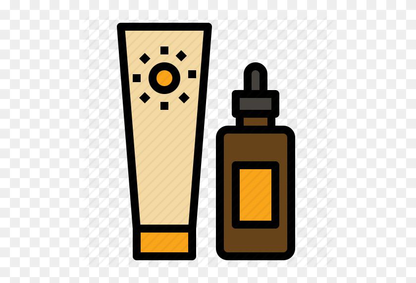 Bathing, Care, Lotion, Skin, Summer, Sun, Tan Icon - Suntan Lotion