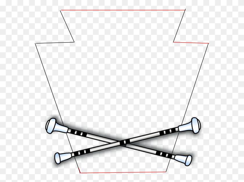 Baton Keystone Clip Art - Majorette Clipart