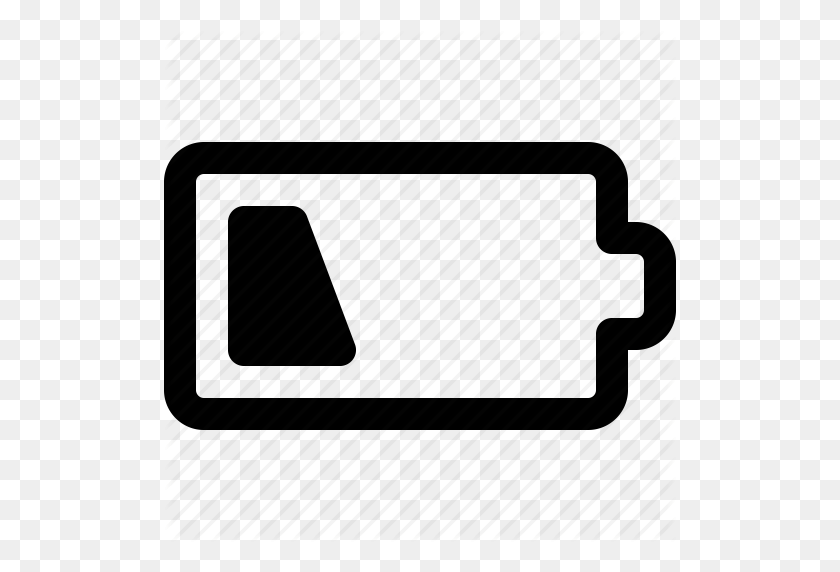 Battery, Battery Indicator, Battery Status, Empty Battery, Low - Battery PNG