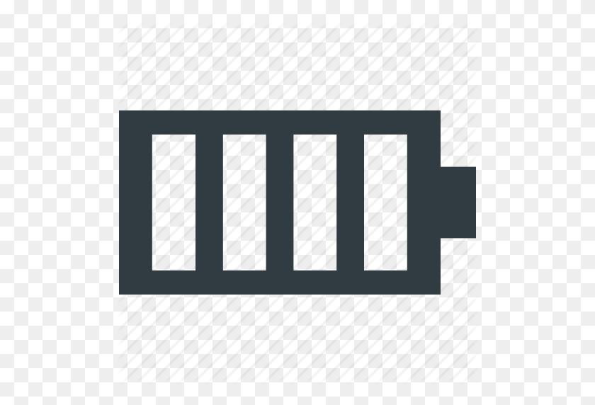 Battery Charging, Battery Level, Battery Status, Full Battery - Battery Icon PNG