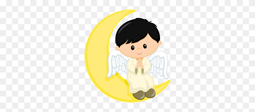 Bautizo Imprimibles Angel, Boys And Communion - Boy Angel Clipart