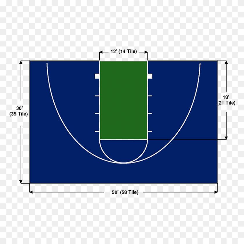 Bball Austin Superior Basketball Court - Basketball Court PNG