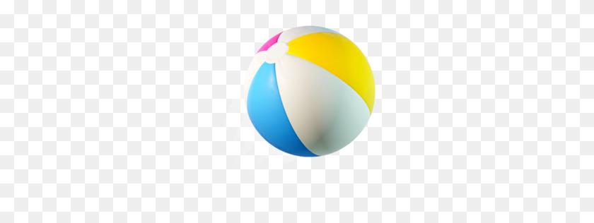 256x256 Beach Ball - Beach Ball PNG
