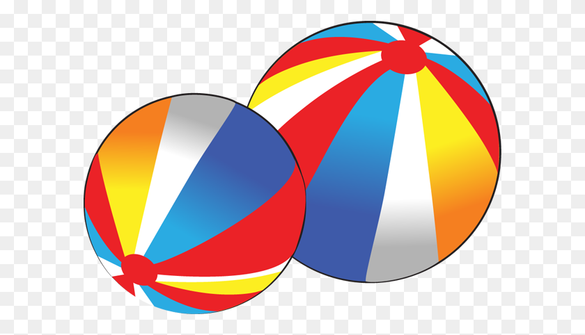 600x422 Beach Ball Clip Art - Beach Ball Clipart PNG