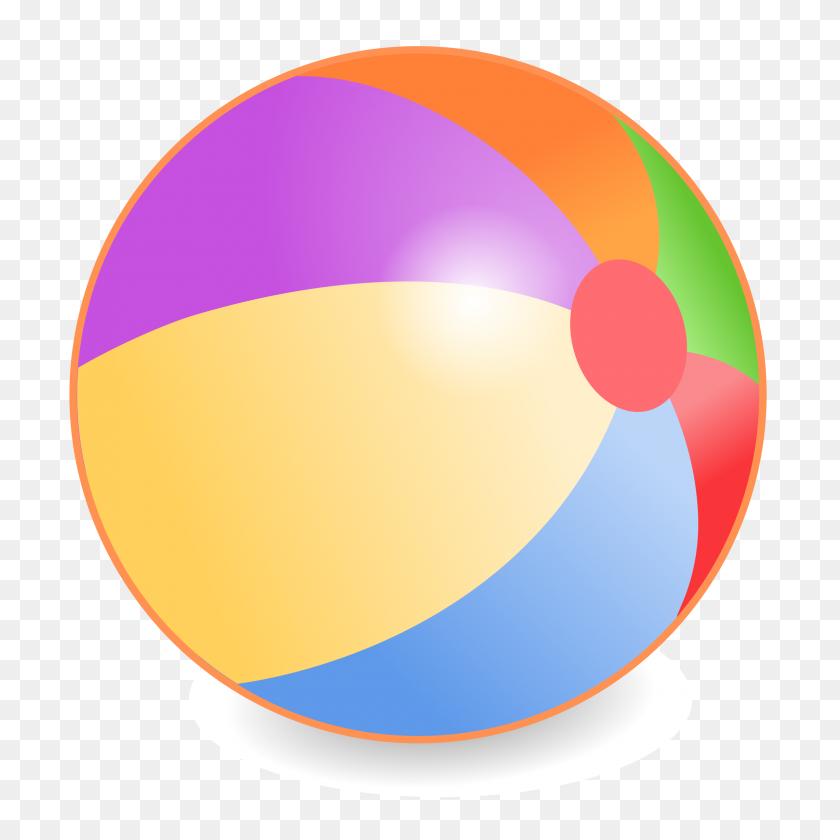 2400x2400 Beach Ball Clipart Beachball - Beach Ball Clipart