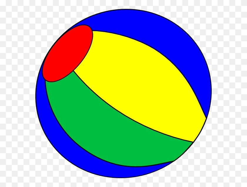 600x575 Beach Ball Clipart Circus - Beach Ball Clipart PNG