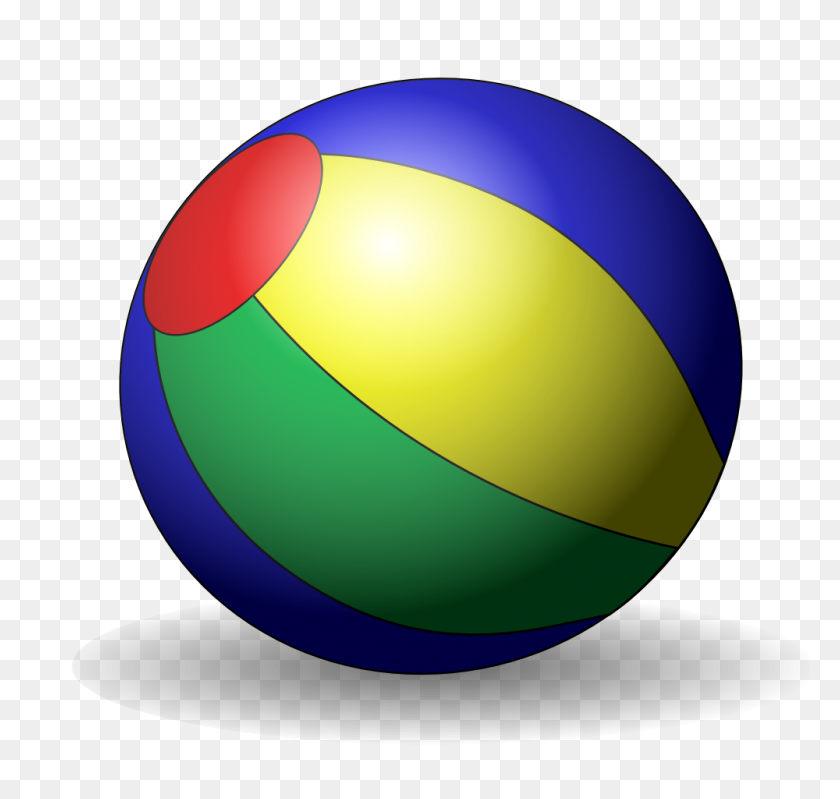 Beach Ball Clipart Png For Web Free Love Clipart Png - Volleyball Ball Clipart