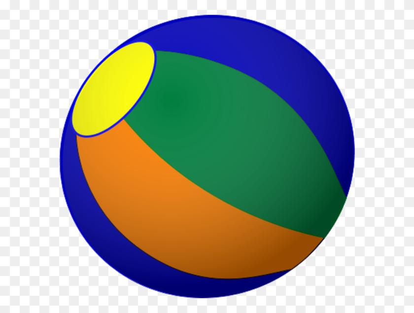 600x575 Beach Ball Free To Use Cliparts - Beach Ball Clipart PNG