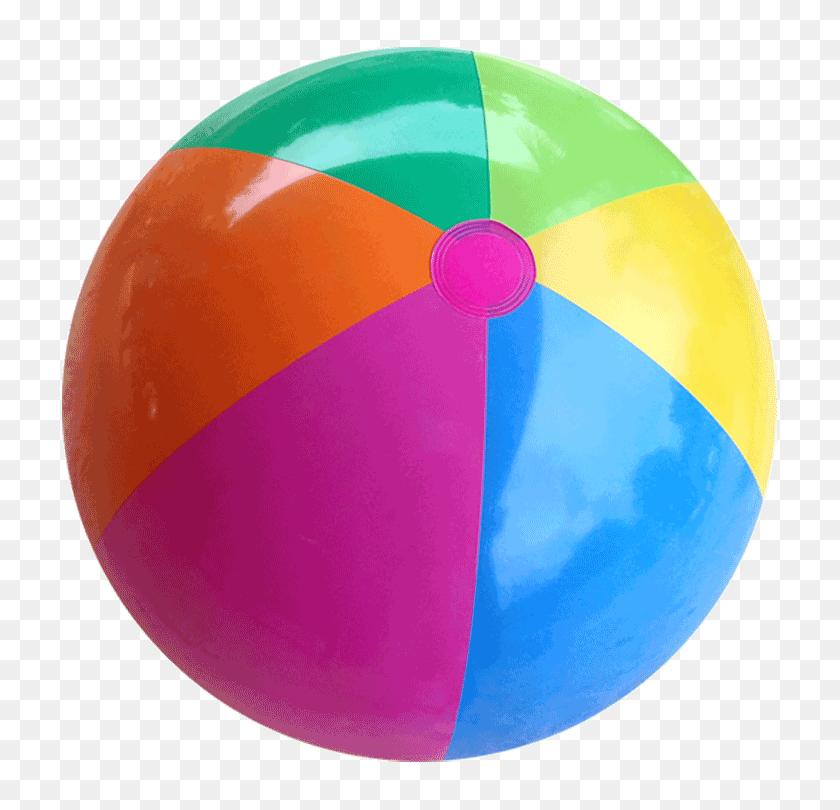 750x750 Beach Ball Purple Orange Blue Transparent Png - Beach Ball PNG