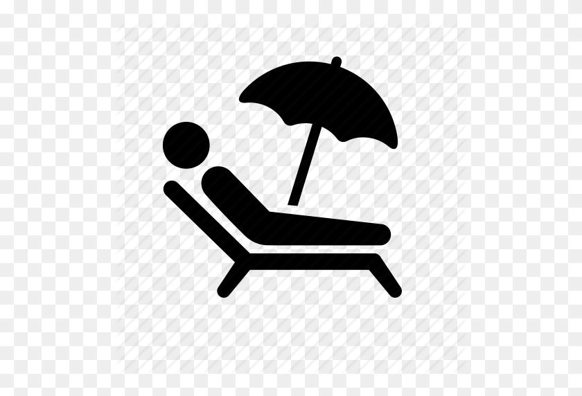 Beach, Beach Chair, Man, Stick Figure, Summer, Tan, Tanning - Stick Figure Clip Art Black And White