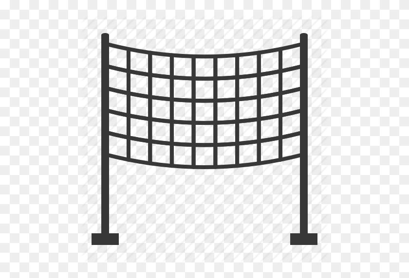 Beach, Beach Scene, Net, Volleyball Net Icon - Volleyball Net PNG