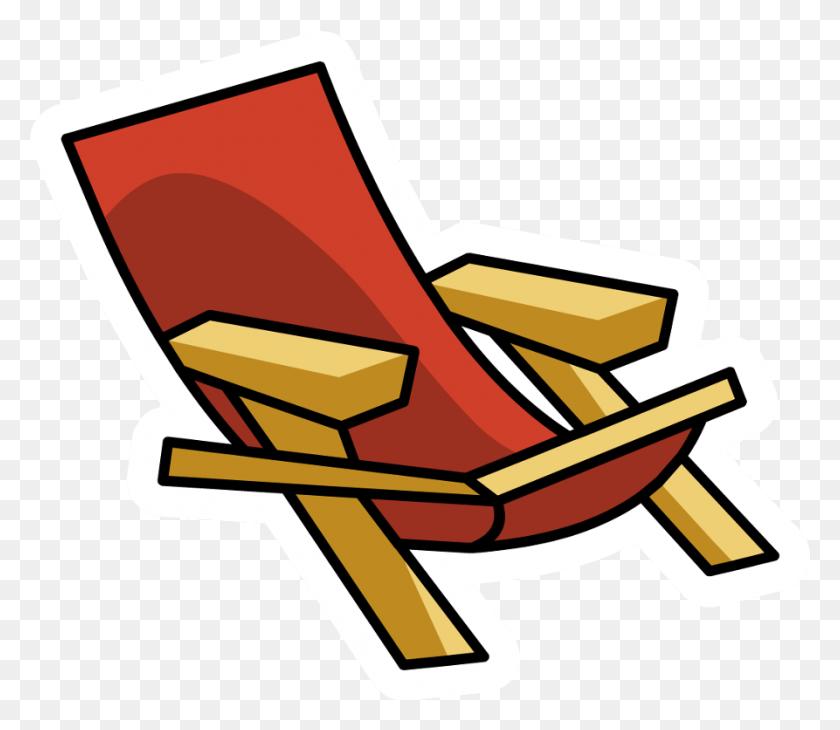 Beach Chair Silhouette Clip Art Silhouette Download Vector ...
