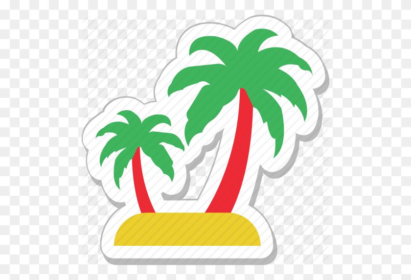 Beach, Coconut Tree, Forest, Palm, Palm Tree Icon - Palm Tree Beach Clip Art