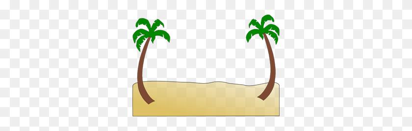 Beach Png Clip Arts For Web - Palm Tree Beach Clip Art
