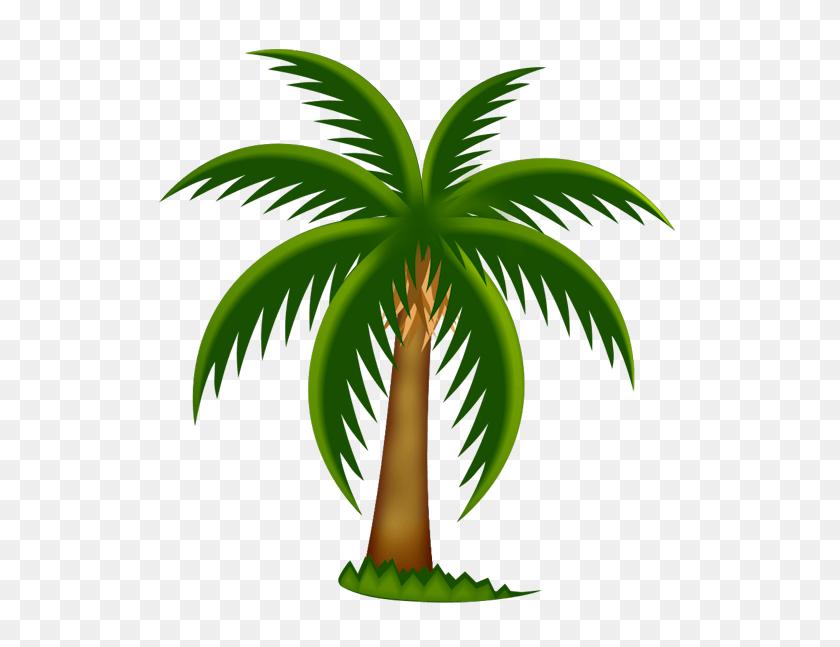 Beach Tree Cliparts - Palm Tree Beach Clip Art
