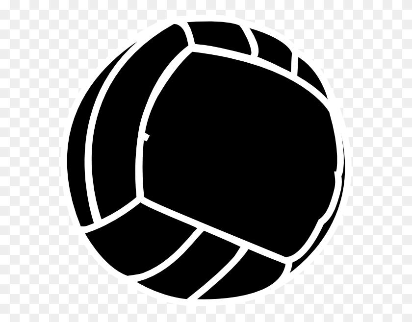 Beach Volley Ball Clip Art - Volleyball Ball Clipart