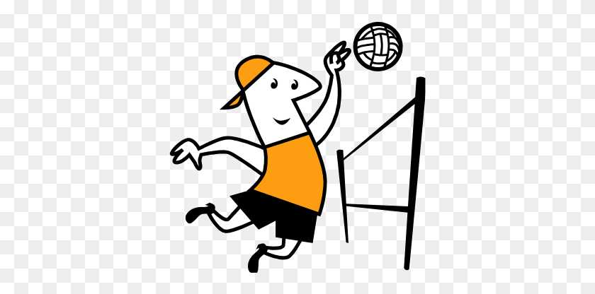 Girl volleyball spike clipart free clipart images - Clipartix