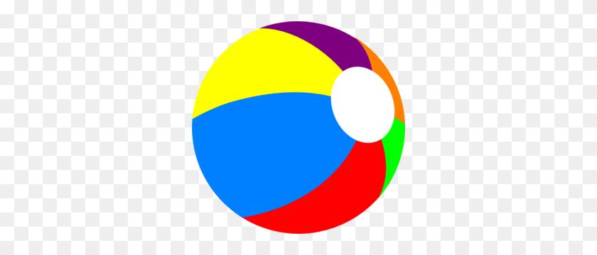 300x300 Beachball, Primary Clip Art - Beach Ball Clipart PNG