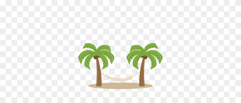 Beachocean - Palm Tree Beach Clip Art