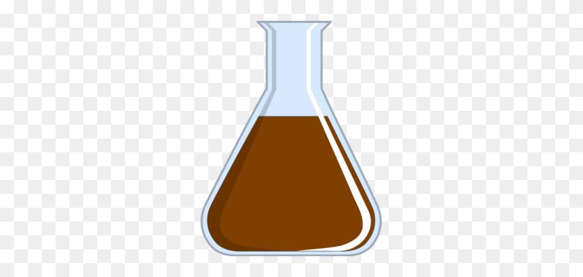 Beaker Laboratory Glassware Laboratory Glassware Test Tubes Free - Chocolate Lab Clipart