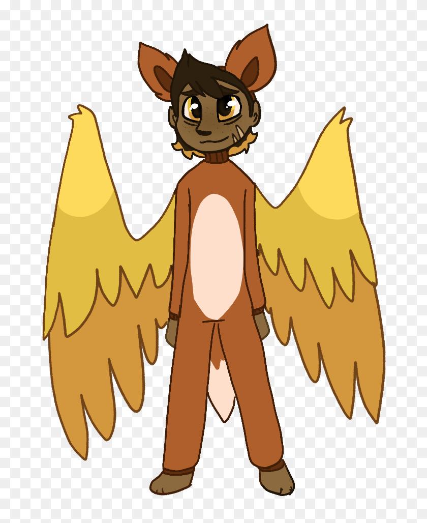 Bean In A Fox Costume Aa - Aa Clip Art