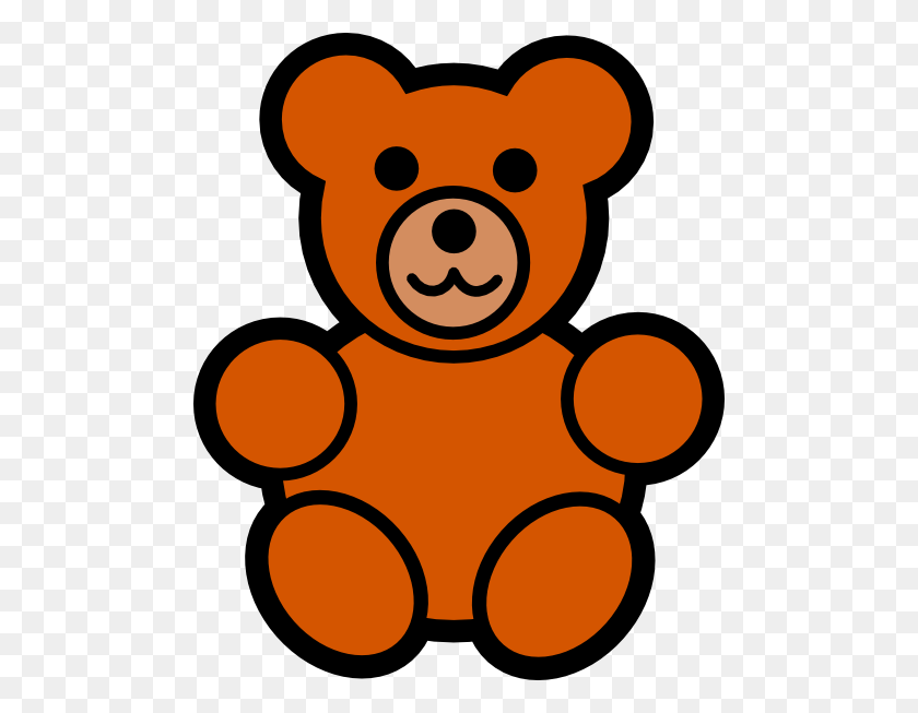 Bear Clipart Easy - Woodland Bear Clipart