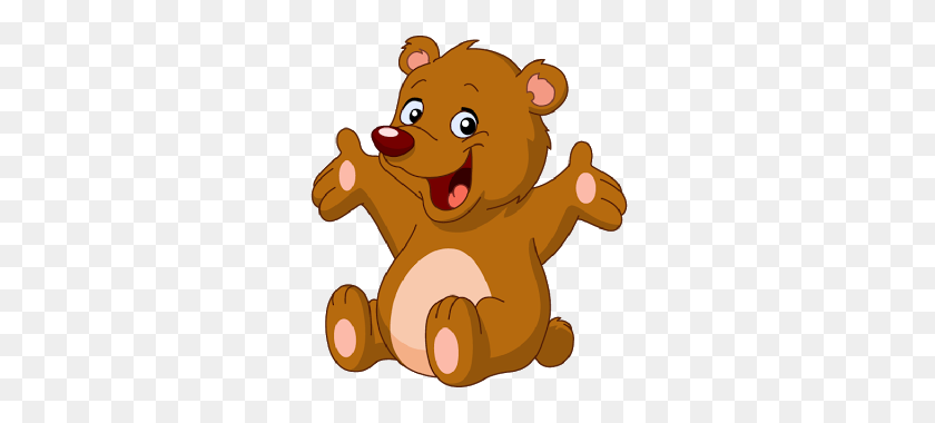 Bear Cub Clipart Cute - Cute Teddy Bear Clipart