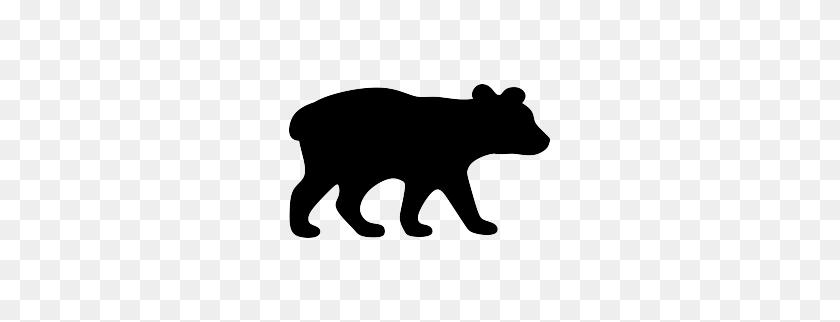 Bear Cub Silhouette Cricut Bear, Bear Silhouette - Momma Bear Clipart