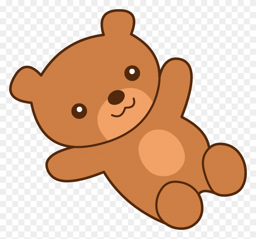 Bear Cute Cliparts - Woodland Bear Clipart