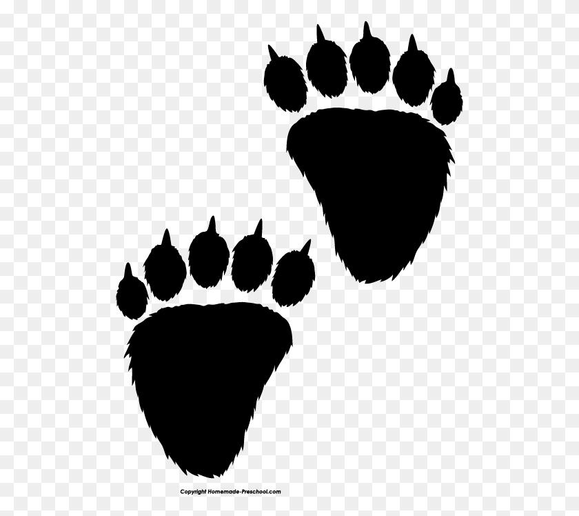 Bear Paw Print Clip Art Bear Paw Free Paw Prints Clipart - Paw Heart Clipart