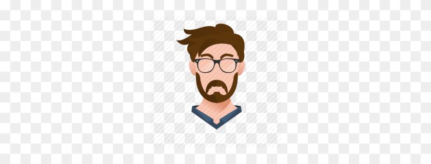 260x260 Beard Glasses Clipart - Arthur Clipart