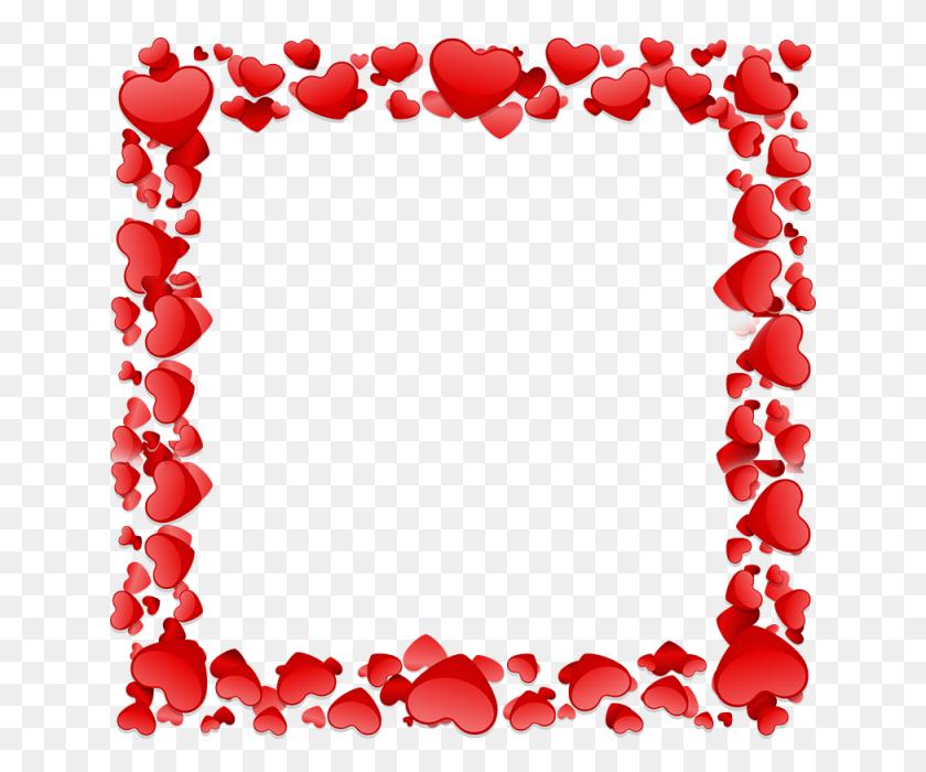 640x640 Beau Coeur Section Beau Coeur Vecteur Coeur Cadre Cadre Fichier - Cadre PNG