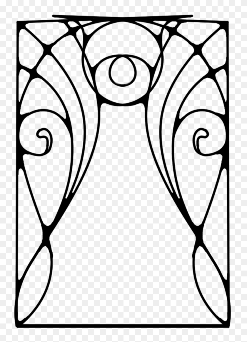Beautiful Art Deco Border Art Deco Border Transparent Png Stickpng - Art Deco Border PNG