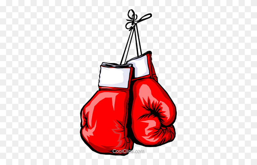 Beautiful Boxing Glove Clipart - Pink Boxing Gloves Clipart