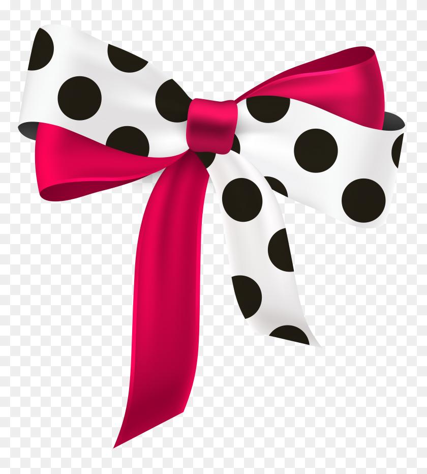 Beautiful Ribbon Free Png Clip Art - Ribbon Bow Clipart