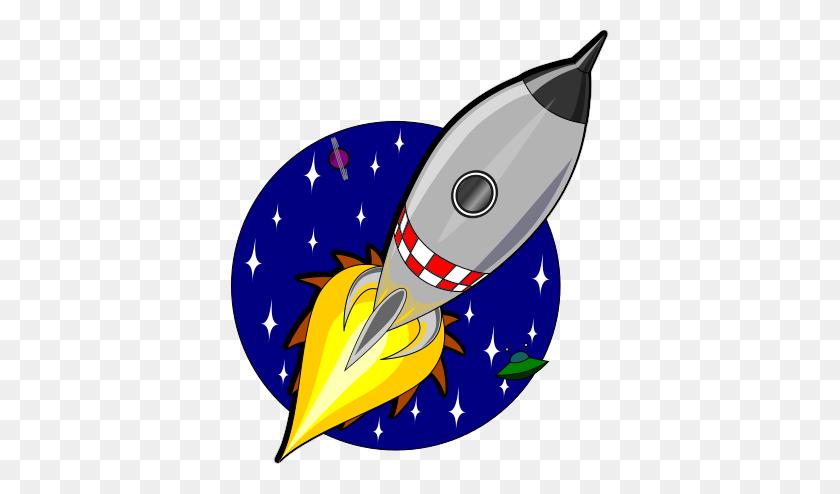 Beautiful Spaceship Clip Art - Spaceship Clipart