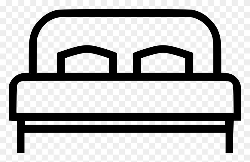 Bed Kingsize Big Bedroom Furniture Png Icon Free Download - Bedroom PNG