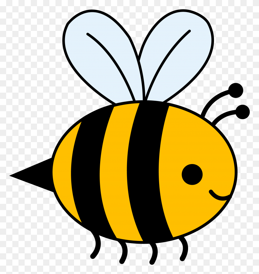 Bee Clipart Path - Deacon Clipart