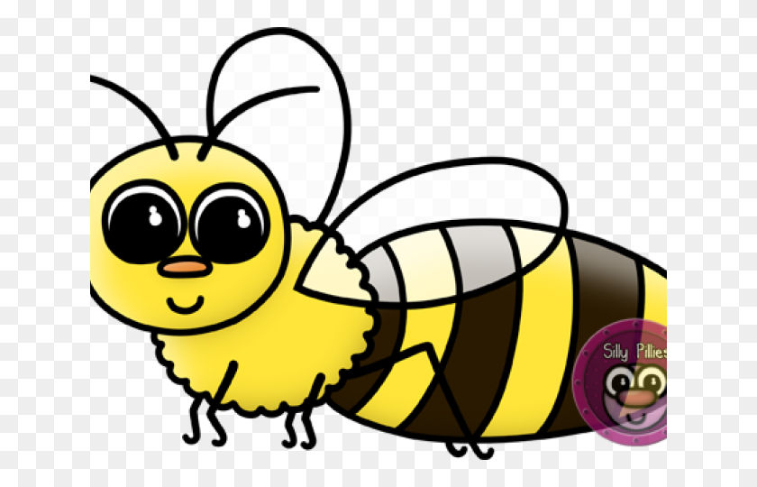 Bee Clipart Silly - Silly Clipart