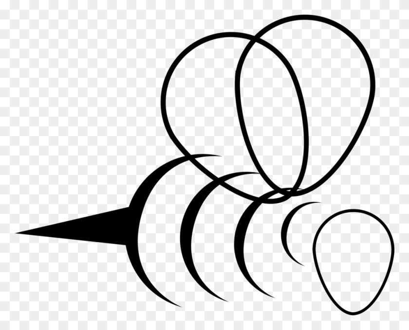 Bee Line Art Drawing Work Of Art - Morning Work Clipart