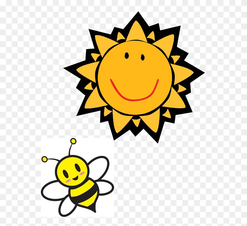564x708 Bee Sunburned His Knee Down - Knee Clip Art