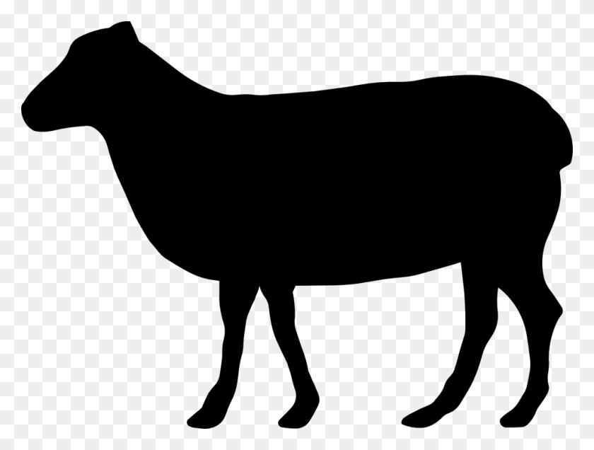 Beef Cattle Silhouette Clip Art - Cow Silhouette Clip Art