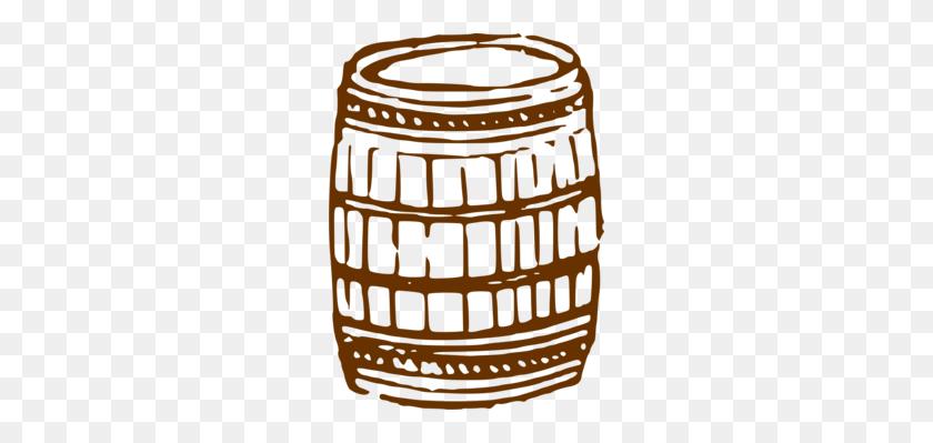 Beer Barrel Firkin Keg Whiskey - Whiskey Barrel Clipart