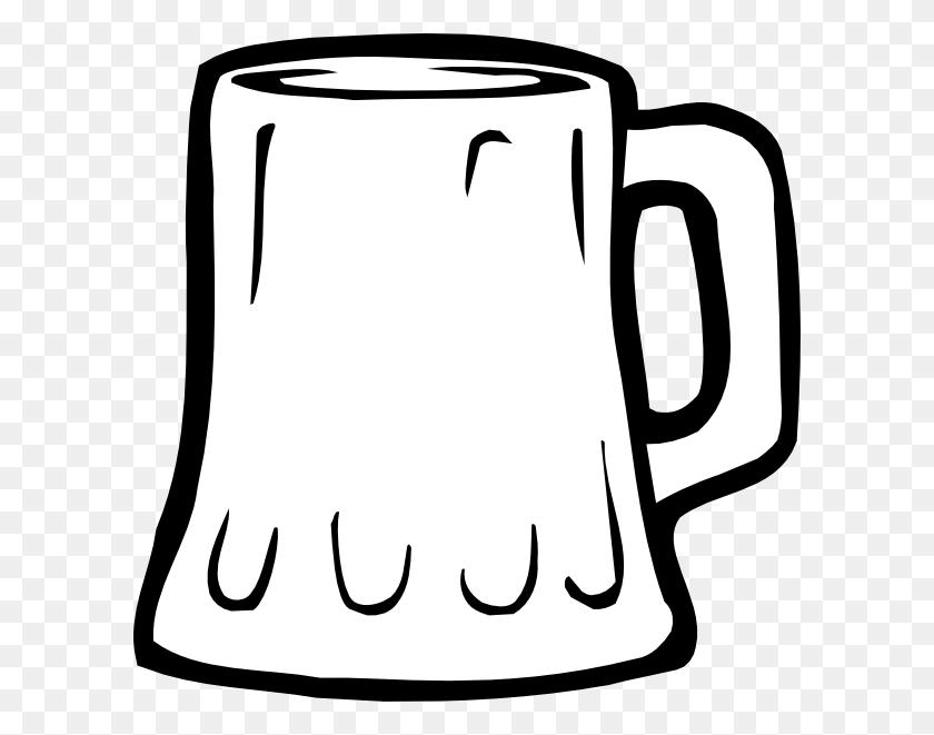 Beer Mug Black And White Clip Art At Clipa - Refrigerator Clipart Black And White