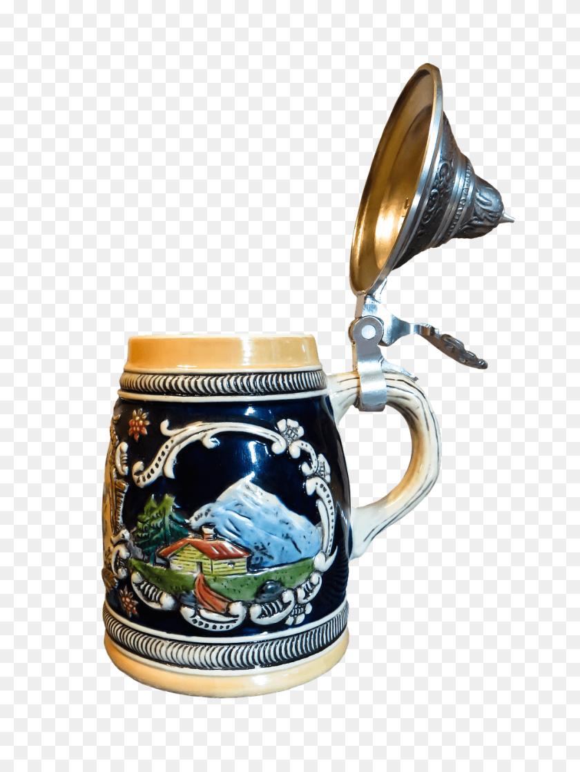 Beer Mug Mountain Decoration Transparent Png - Beer Mug PNG