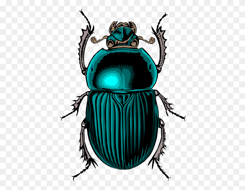 Beetle Bug Clip Art Free Vector - Zentangle Clipart