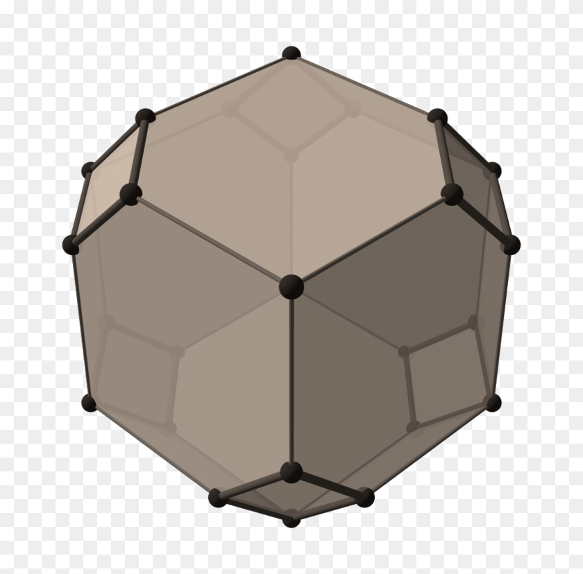 768x768 Beige Concertina Cube Top - Table Top PNG