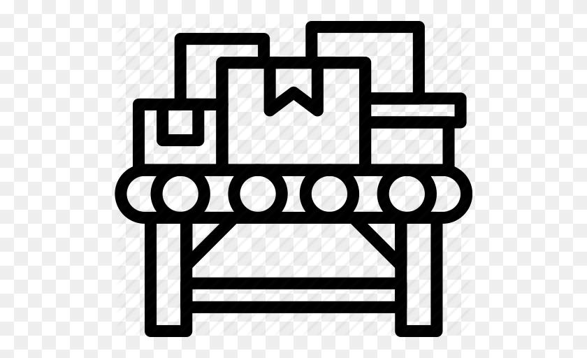 Stock Illustration - Belt conveyor. Clipart gg65876862 - GoGraph